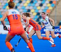MONCHENGLADBACH  -  Laura Nunnink (Ned) . Pro League  Duitsland-Nederland (0-1) dames .   COPYRIGHT KOEN SUYK