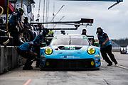 November 12-14, 2020. IMSA Weathertech Mobil1 Sebring 12h: #16 Wright Motorsports, Porsche 911 GT3 R, Ryan Hardwick, Patrick Long, Jan Heylen