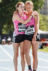 adidas Grand Prix Diamond League Track & Field: high school girls Dream Mile, Ryen Frazier, Stephanie Jenks