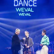 NLD/Amsterdam/201702013- Edison Pop Awards 2017, Weval wint de de prijs in categorie Dance