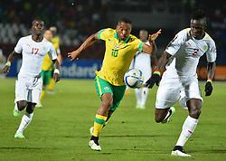 Jan. 24, 2015 - Mongomo, Guinee Equatoriale - Sibusiso Vilakazi (AFS) vs Serigne M.K. Mbodji  (Credit Image: © Panoramic/ZUMA Wire)
