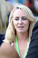 Go Racing In Yorkshire Raceday Presenter Adele Mulrennan at the York Dante Meeting at York Racecourse, York, United Kingdom on 17 May 2018. Picture by Mick Atkins.