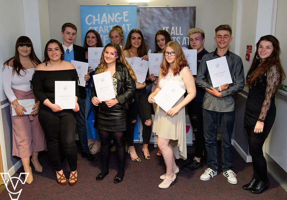 Cohort 2 - Team 3   NCS EM1 graduation ceremony held at The Castle Theatre, Wellingborough, Northamptonshire.<br /> <br /> Picture: Chris Vaughan Photography<br /> Date: September 13, 2017
