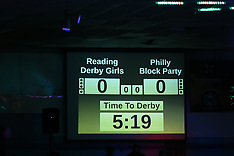 Reading Derby Girls vs Philly Block Party 3-25-18