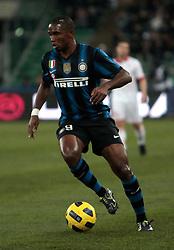 Bari (BA), 03-02-2011 ITALY - Italian Soccer Championship Day 23 - Bari VS Inter..Pictured: Eto'o (I).Photo by Giovanni Marino/OTNPhotos . Obligatory Credit