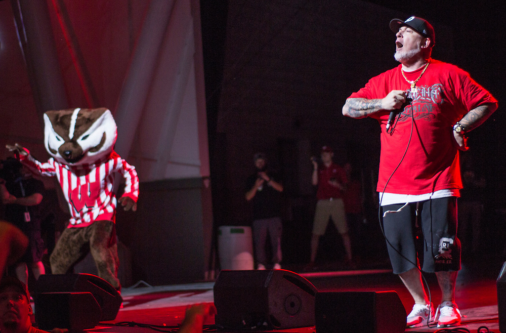 House of Pain performing at Summerfest in Milwaukee, WI on June 30, 2017.