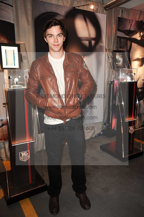 NICHOLAS HOULT at a party to celebrate 150 years of TAG Heuer held at the car park at Selfridge's, London on 15th September 2010.