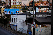 Belo Horizonte_MG, Brasil...Poluicao Visual na cidade de Belo Horizonte. Na foto, detalhe da Avenida Antonio Carlos, no bairro Lagoinha.  ..The visual pollution in Belo Horizonte. In this photo, Antonio Carlos avenue in Lagoinha neighborhood.. .Foto: LEO DRUMOND / NITRO