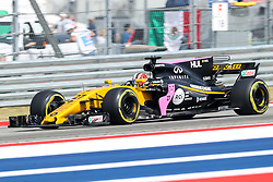 October 20, 2017 - Austin, Texas, U.S - Nico Hulkenberg (27) of Germany in action before the Formula 1 United States Grand Prix race at the Circuit of the Americas race track in Austin,Texas. (Credit Image: © Dan Wozniak via ZUMA Wire)