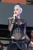 Gwen Stefani performs in New York