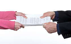 THEMENBILD -Foto zeigt Symbolbild Abschluss oder Beengigung von Verträgen // Photo shows Symbolic degree or Beengigung of contracts, pictured in Zagreb, Croatia on 2015/03/02. EXPA Pictures © 2015, PhotoCredit: EXPA/ Pixsell/ Igor Kralj<br /> <br /> *****ATTENTION - for AUT, SLO, SUI, SWE, ITA, FRA only*****