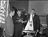 1957 Ireland 'Takes Wings' at Mansion House