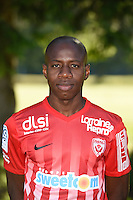 Junior Dale of Nancy poses for a portrait during the Nancy squad photo call for the 2016-2017 Ligue 1 season on August 25, 2016 in Nancy, France<br /> Photo : Fred Marvaux / Icon Sport