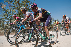 Alena Amialiusik (BLR) at Strade Bianche - Elite Women 2020, a 136 km road race starting and finishing in Siena, Italy on August 1, 2020. Photo by Sean Robinson/velofocus.com