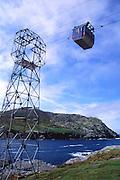 Cable car linking the mainland to Dursey Island, Beara peninsula, County Cork, Ireland