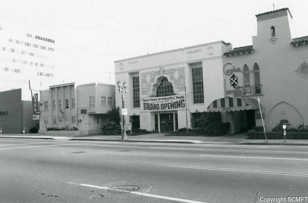 1976 Shaffer Camera on Sunset Blvd. at Hudson Ave.