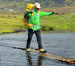 09-07-2014 ISL: Iceland Diabetes Challenge Dag 5, Emstrur<br /> Van Alftavatn naar Emstrur / Abderrahman Laghmouchi