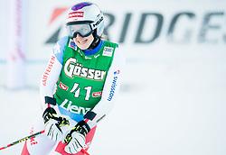 29.12.2017, Hochstein, Lienz, AUT, FIS Weltcup Ski Alpin, Lienz, Riesenslalom, Damen, 2. Lauf, im Bild Vanessa Kasper (SUI) // Vanessa Kasper of Switzerland reacts after her 2nd run of ladie's Giant Slalom of FIS ski alpine world cup at the Hochstein in Lienz, Austria on 2017/12/29. EXPA Pictures © 2017, PhotoCredit: EXPA/ Michael Gruber