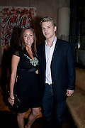 FREDDIE STROMA; GEMMAParty after the European premiere of Creation  at the Curzon Mayfair. Party at 17 Berkeley St. London.  13 September 2009.