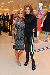 Left to right, JACQUIE BELTRAO and ANNABEL CROFT at the Melissa Odabash & Future Dreams Preview to launch their collaborative mastectomy swimwear line in aid of the future dreams Haven appeal held at Fenwick, New Bond Street, London on 10th February 2015.
