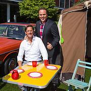 NLD/Hilversum/20130827 - Perspresentatie Vive la Frans, Frans Bauer en Joost Eerdmans