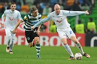 20111201: LISBON, PORTUGAL Ð UEFA Europe League 2011/2012 Group D: Sporting Lisbon vs FC Zurique.<br />In picture .Ludovic Magnin<br />PHOTO: CITYFILES