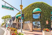Kush Fine Art Gallery on Coast Hwy and Park Ave Downtown Laguna Beach
