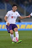 Tino Costa Fiorentina.<br /> Roma 4-03-2016  Stadio Olimpico<br /> Campionato Serie A,<br /> AS Roma . Fiorentina.<br /> Foto Antonietta Baldassarre / Insidefoto