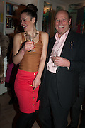 Drinks party given by Basia and Richard Briggs,  Chelsea. London. SW3. 13 February 2014.