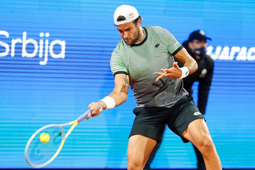 Tennis-ATP Serbia Open Belgrade 2021- <br /> Taro Daniel (JPN) v Matteo Berrettini (ITA)<br /> Beograd, 24.04.2021.foto: Marko Djokovic/Starsportphoto ©