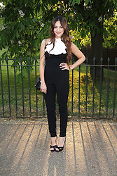 © London News Pictures. 26/06/2013. London, UK. Zara Martin, The Serpentine Gallery summer party, Kensington Gardens London UK, 26 June 2013, Photo credit: Richard Goldschmidt/LNP