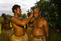 Fijian warriors, Vomo Island Resort, Fiji Islands