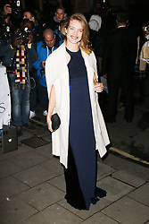 Natalia Vodianova, Harper's Bazaar Women of the Year Awards, Claridge's Hotel, London UK, 05 November 2013, Photo by Richard Goldschmidt © Licensed to London News Pictures. Photo credit : Richard Goldschmidt/Piqtured/LNP