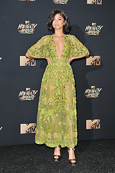 Zendaya at the 2017 MTV Movie And TV Awards held at The Shrine Auditorium on May 7, 2017 in Los Angeles, California.<br /><br />(Photo by Sthanlee Mirador) *** Please Use Credit from Credit Field ***