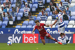 Jamie Paterson of Bristol City is fouled by Andy Rinomhota of Reading - Mandatory by-line: Arron Gent/JMP - 28/11/2020 - FOOTBALL - Madejski Stadium - Reading, England - Reading v Bristol City - Sky Bet Championship
