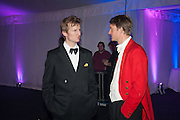 TIMMY EDWARDS; MAX CHENERY, Quorn Hunt Ball, Stanford Hall. Standford on Soar. 25 January 2014