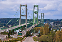 Tacoma Narrows Bridge, Tacoma, Washington, USA