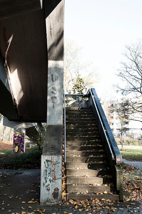 Spaziergang durch City Nord, Hamburg am 7. November 2020