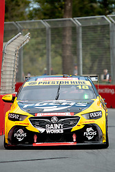 October 19, 2018 - Gold Coast, QLD, U.S. - GOLD COAST, QLD - OCTOBER 19: Jason Bright in the Preston Hire Racing Holden Commodore during Friday practice at The 2018 Vodafone Supercar Gold Coast 600 in Queensland on October 19, 2018. (Photo by Speed Media/Icon Sportswire) (Credit Image: © Speed Media/Icon SMI via ZUMA Press)