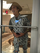 EXCLUSIVE<br /> Justin Bieber entered hotel via lower level to avoid creating a scene. The kids club daycare is located on the lower level of the Fontainebleau Miami Beach When he passed by the kids club he interacted through the glass with the kids, creating a love heart on the window<br /> ©Exclusivepix Media