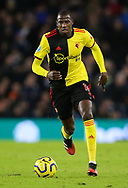 Watford's Abdoulaye Doucoure during the Premier League match at the American Express Community Stadium, Brighton and Hove. Picture date: 8th February 2020. Picture credit should read: Paul Terry/Sportimage
