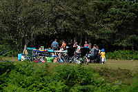 people gathering Bolderwood in the New Forest   photo by Dawn Fletcher-Park