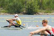 2005, World Rowing Championships, Nagaragawa International Regatta Course, Gifu, JAPAN:  AUS M1X, Saturday  28.08.2005. [Spares Races]  © Peter Spurrier/Intersport Images - email images@intersport-images.com