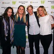 London,England,UK. 11th May 2017. Adam,Jenny Jones attends the Women's Sport Trust Awards - #BeAGameChanger at The Troxy,london, UK. by See Li