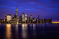 Lower Manhattan Skyline @ Twilight