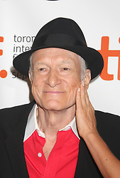 September 27, 2017 - FILE - HUGH MARSTON HEFNER (born: April 9, 1926 died: September 27, 2017) was an American men's lifestyle magazine publisher, businessman, and playboy. A multi-millionaire, his net worth at the time of his death was over $43 million due to his success as the founder of Playboy. Hefner was also a political activist and philanthropist active in several causes and public issues. Pictured: Sep 12, 2009 - Toronto, ON, Canada - HUGH HEFNER at the premiere of 'Hugh Hefner: Playboy, Activist And Rebel' at the 2009 Toronto International Film Festival (Credit Image: Dan Herrick/ZUMAPRESS.com)