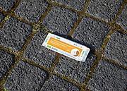 Weggeworfene Verpackung Corona Schnelltest, Hamburg, Deutschland, 18. April 2021