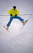 Skiing stunts, Roundtop Ski Resort, York Co. Pennsylvania