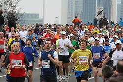 15.04.2012, Wien, AUT, Vienna City Marathon 2012, im Bild Marathon Teilnehmer // during the Vienna City Marathon 2012, Vienna, Austria on 15/04/2012,  EXPA Pictures © 2012, PhotoCredit: EXPA/ Stephan Woldron