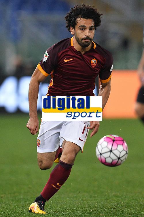 Mohamed Salah Roma <br /> Roma 19-03-2016 Stadio Olimpico Football Calcio Serie A 2015/2016 AS Roma - Inter. Foto Andrea Staccioli / Insidefoto